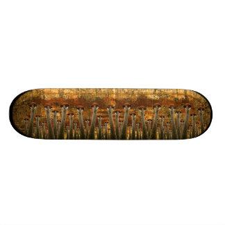 uber grunge cranes custom skateboard