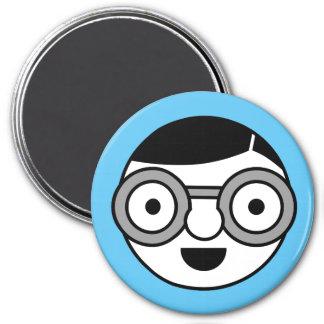 Uber Nerd 7.5 Cm Round Magnet