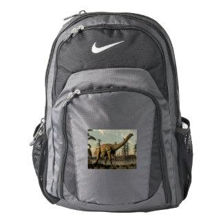 Uberabatitan dinosaur in the lake - 3D render Backpack