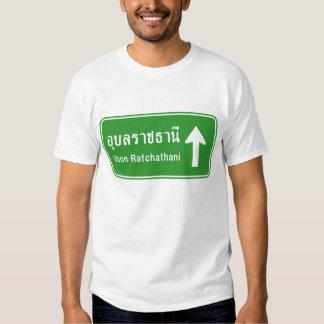 Ubon Ratchathani Ahead ⚠ Thai Traffic Sign ⚠ Shirts
