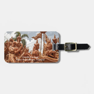 Ubon Ratchathani Candle Festival Travel Bag Tag