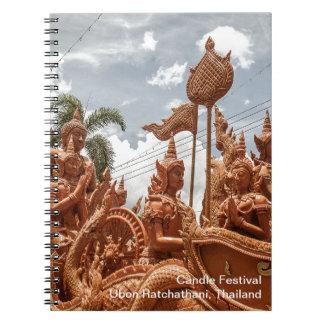 Ubon Ratchathani Candle Festival Travel Notebook