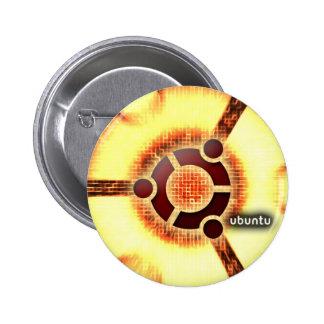 Ubuntu 6 Cm Round Badge