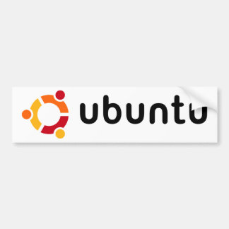 Ubuntu Bumper Sticker