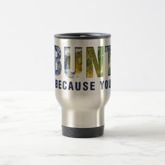 Ubuntu - I am because you are Travel Mug