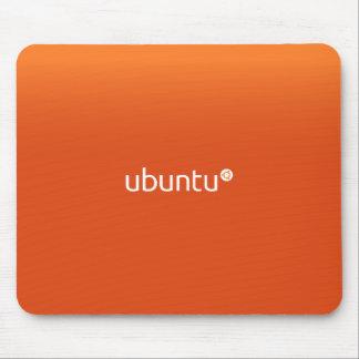 Ubuntu Linux Orange Mouse Pad