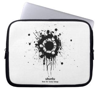 ubuntu linux will be human beings laptop sleeve