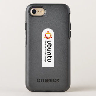 ubuntu linux will be human beings OtterBox symmetry iPhone 8/7 case