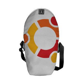 Ubuntu Mini Messanger Bag Commuter Bag