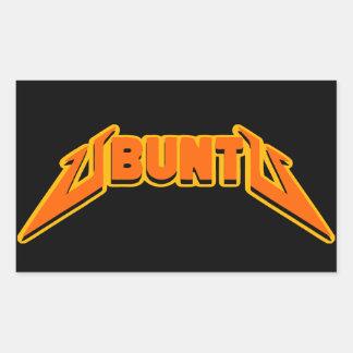 Ubuntu Rock Parody Logo Sticker