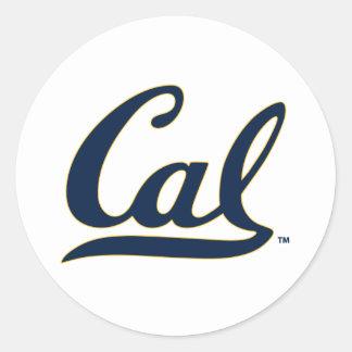 UC Berkley logo Classic Round Sticker