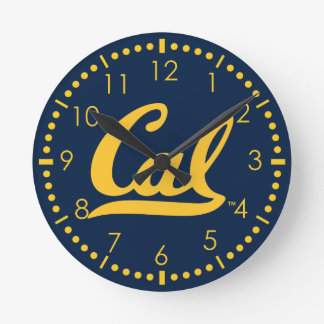 UC Berkley logo Golden Round Clock