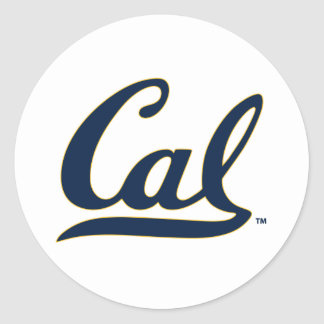UC Berkley logo Round Sticker