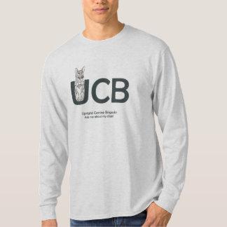 UCB Breeds German Shepherd Men's Long Sleeved T T-Shirt