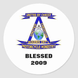 UCBI Bike Blessing Sticker 2009