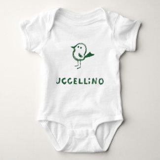 uccellino baby bodysuit