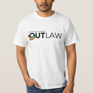 UChicago OutLaw - Black, Full Color T-Shirt