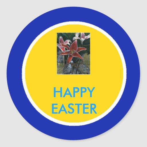 !UCreate Happy Easter Sticker
