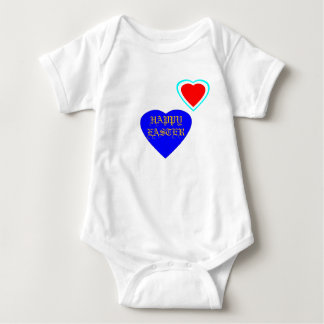 !UCreate Happy Easter with Hearts Baby Bodysuit