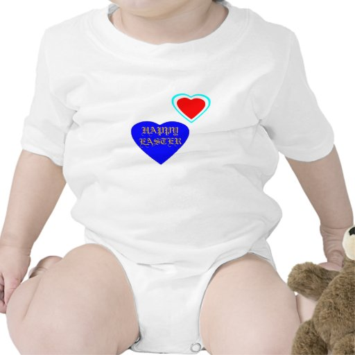!UCreate Happy Easter with Hearts T-shirts
