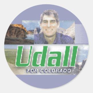 UDALL Colorado Senate Sticker
