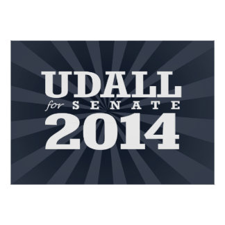 UDALL FOR SENATE 2014 POSTERS