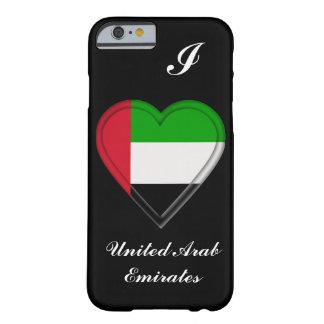 UEA United Arab Emirates flag Barely There iPhone 6 Case