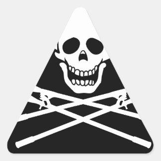 UEflag2cutter.tiff Triangle Sticker