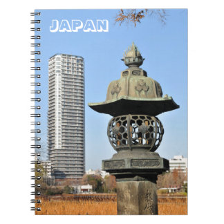 Ueno Park in Tokyo, Japan Notebook