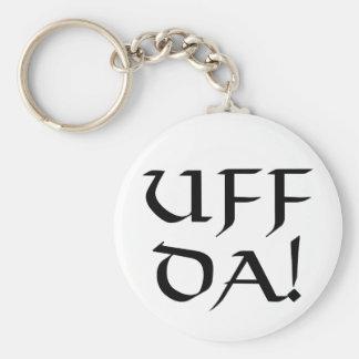 Uff Da! Key Ring