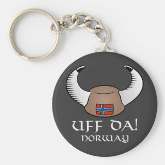 Uff Da! Norway Key Ring