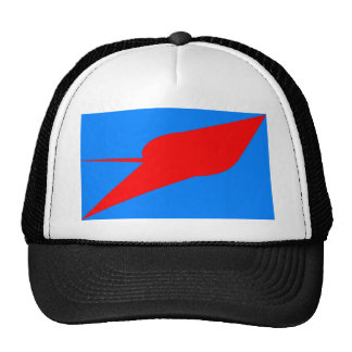 UFO!  A logo or design depicting a UFO sighting Trucker Hat