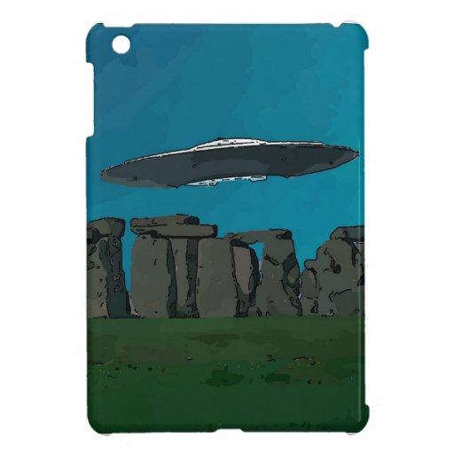 UFO At Stone Henge iPad Mini Case