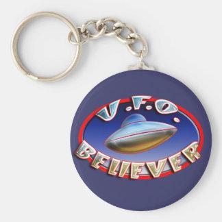 UFO Believer Keychain