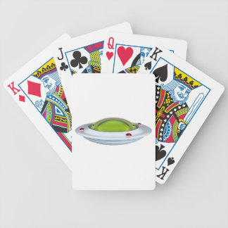 UFO BICYCLE PLAYING CARDS