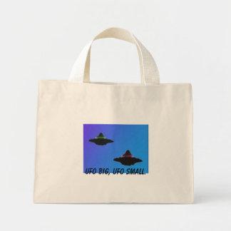 UFO BIG, UFO SMALL. MINI TOTE BAG