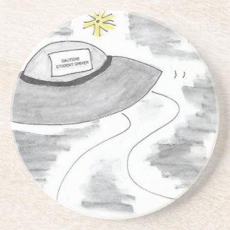 UFO Birthday Coaster