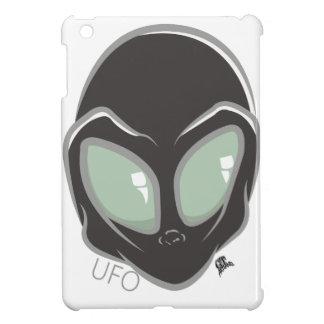 UFO Black Galactic Martian Alien Head Case For The iPad Mini