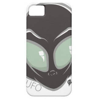 UFO Black Galactic Martian Alien Head iPhone 5 Covers