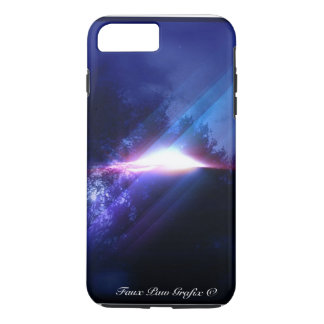 UFO by Faux Paw Grafix iPhone 7 Plus Case
