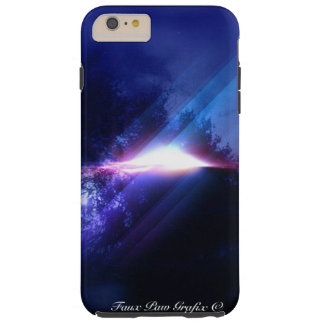 UFO by Faux Paw Grafix Tough iPhone 6 Plus Case