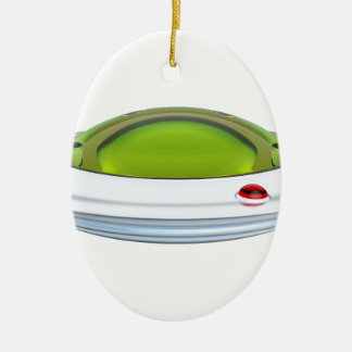 UFO CERAMIC ORNAMENT