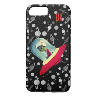 UFO FLYING SAUCER CUSTONIZABLE by Jetpackcorps iPhone 8 Plus/7 Plus Case