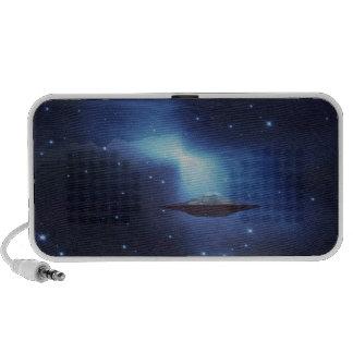 UFO galaxies Portable Speakers