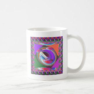 UFO graphic design Basic White Mug