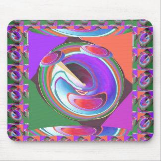 UFO graphic design Mouse Pad