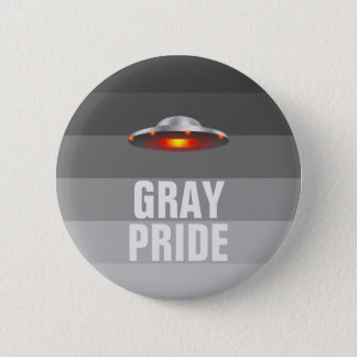 UFO Gray Pride button