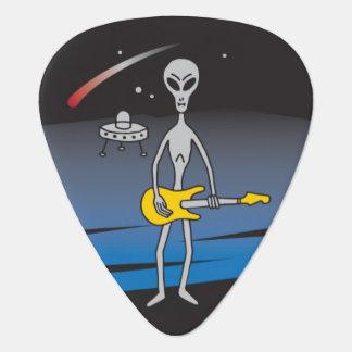 UFO Guitar Alien Guitar Pick Plectrum