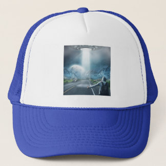 UFO Hitchhiker trucker hats