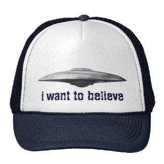 Ufo, i want to believe cap